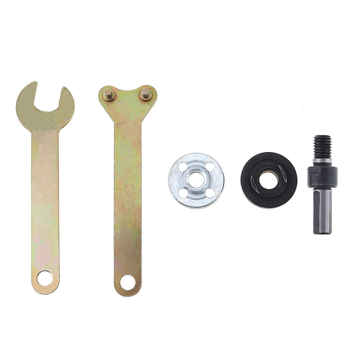 ChgImposs 5 in 1 Angle Grinder Accessories with Connecting Rod and Small Wrench for Conversion Angle Grinding Tool FLXDirect