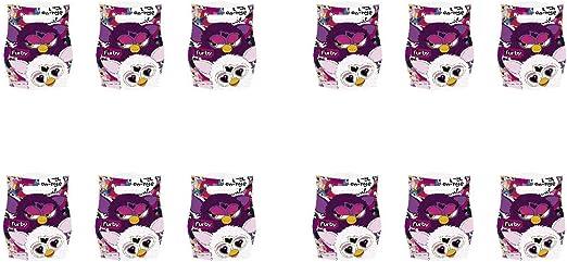 ALMACENESADAN 2499; Pack 12 Bolsas para chuches o Juguetes Furby ...