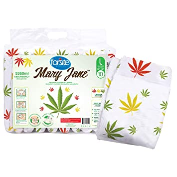 Amazon.com: Forsite Mary Jane Max Absorbency - Calzoncillos ...