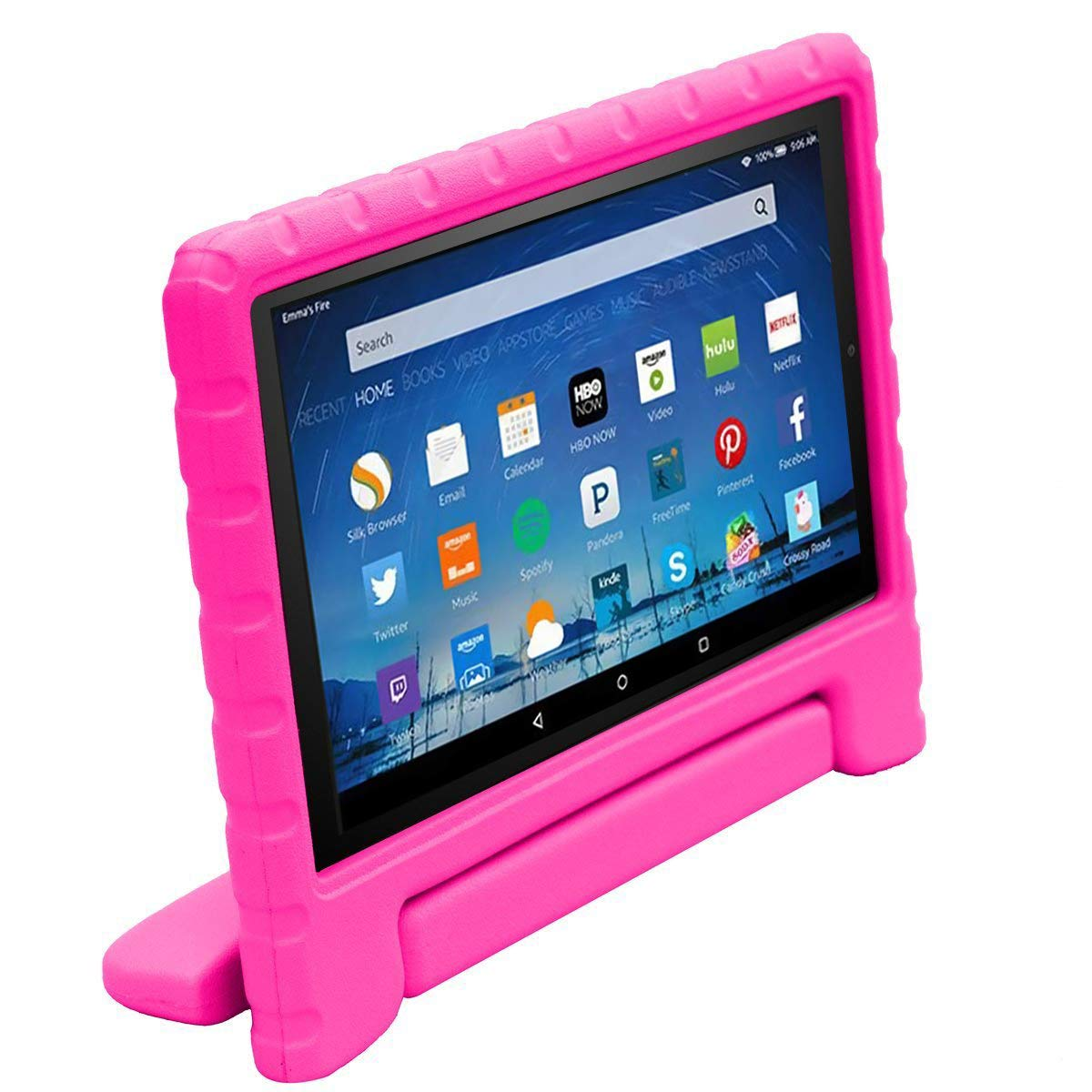 7th and 8th Generation, 2017 and 2018 Release Blue Light Weight Shock Proof Convertible Handle Kid-Proof Cover Kids Case for All-New Fire HD 8 Tablet BMOUO Case for All-New Fire HD 8 2017//2018