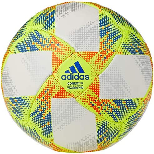 adidas Balón Fútbol Conext19 Training Pro, Color Blanco/Amarillo ...