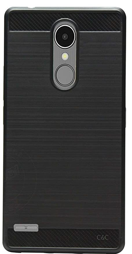 reputable site 12bf0 a3504 C&C LG K7i Premium Rubberized Back Case Cover