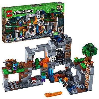 LEGO Minecraft The Bedrock Adventures 21147 Building Kit (644 Pieces): Toys & Games