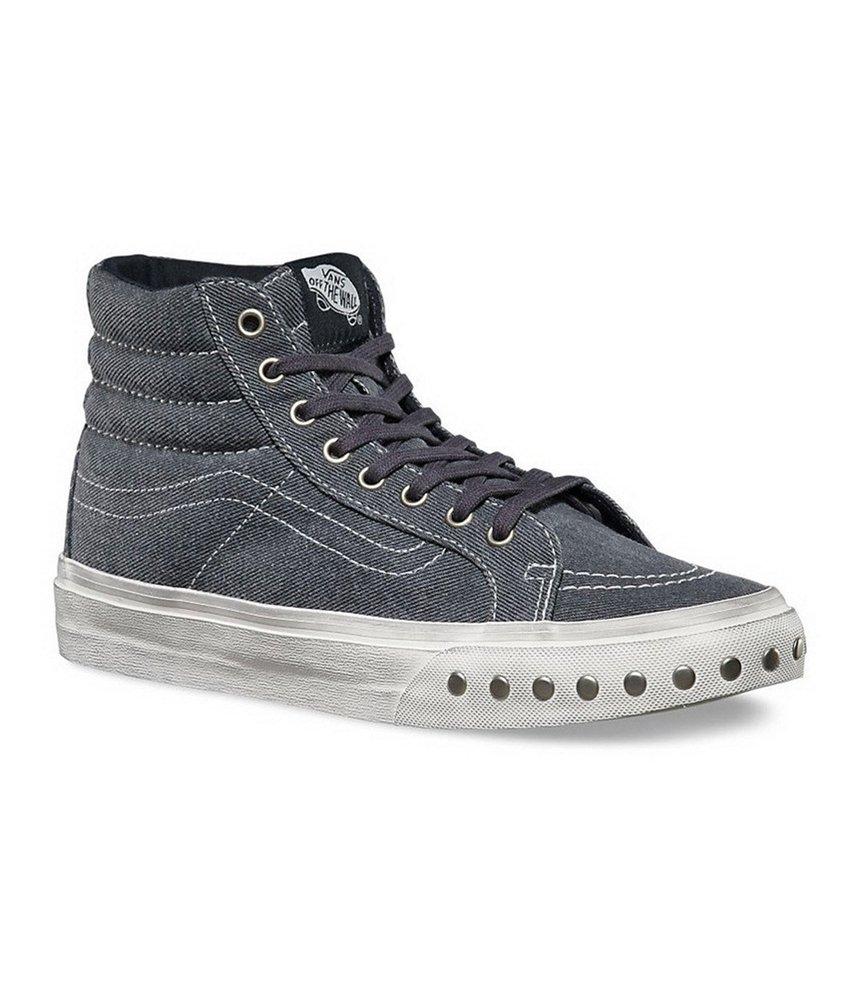 Vans Unisex Sk8-Hi Slim Overwashed Sneakers bluegraphite M5 W6.5