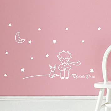 Amazon.com : Ussore Wall Decals 1PC Stars Moon The Little Prince Boy ...