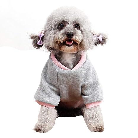 GUCIStyle Ropa Casual de Invierno para Mascotas Adidog Ropa para Perros Abrigo con Capucha cálida Ropa