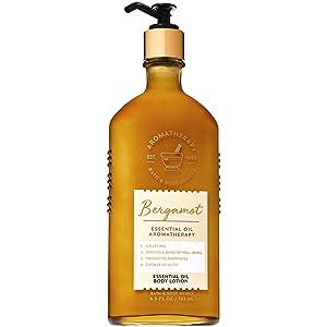 Bath and Body Works Aromatherapy BERGAMOT Essential Oil Body Lotion 6.5 Fluid Ounce
