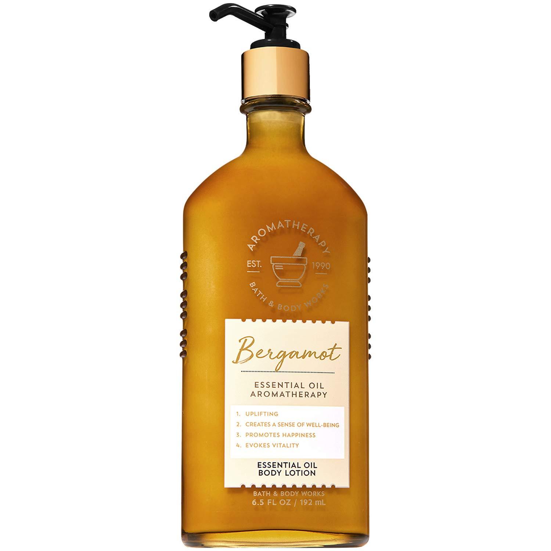 Aromatherapy BERGAMOT Essential Oil Body Lotion