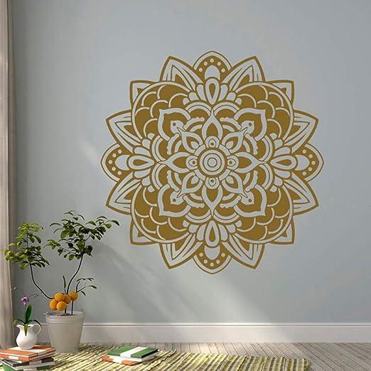 Mandala Etiqueta de la pared Vinilo Artista Residencia Decoración ...