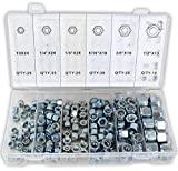 DOVETAIL 10-to-½'' Locknut Assorted 150-piece Set: HW-01150