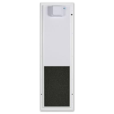 Plexidor Large Wall Mount PDE Electronic Pet Door in White