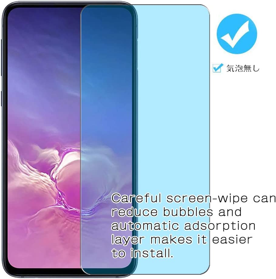Not Tempered Glass 【2 Pack】 Synvy Anti Blue Light Screen Protector for Fire HD 10 Kids Model 10 2019 Screen Film Protective Protectors