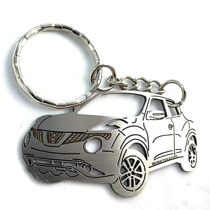 Nissan Juke key chain Stainless Steel Key ring for Enthusiasts or for gift