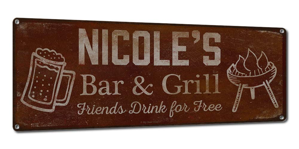 Personalized Barbecue Sign ~ Nicole