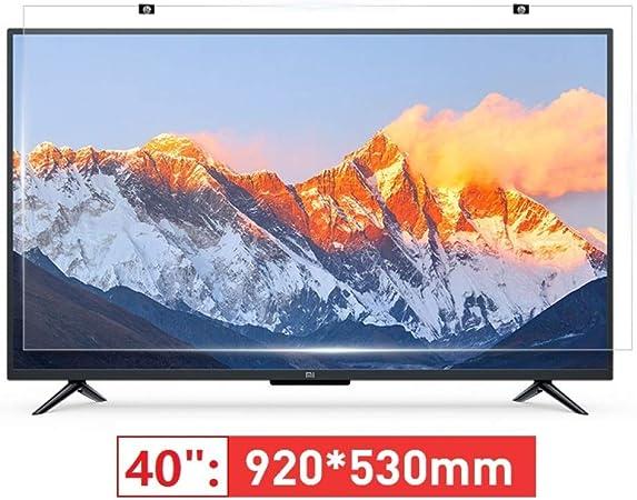 BYCDD 40 Pulgadas de Pantalla de TV Protector, Anti-Azul Claro Resistente a los arañazos Ultra-Clear Protección de los Ojos de Filtro de Pantalla intimidad,920X530MM: Amazon.es: Hogar