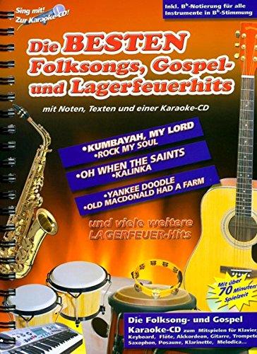 Die Besten Folksongs,Gospel- Und Lagerfeuerhits CD zum Anhören und Mitspielen