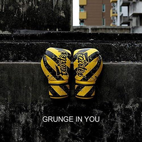 MID 1980 MMA PUNCH FAIRTEX MUAY THAI KICK BOXING GLOVES BGV14Y GRUNGE ART