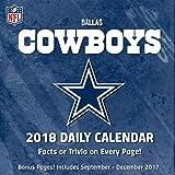 Dallas Cowboys 2018 Desk Calendar