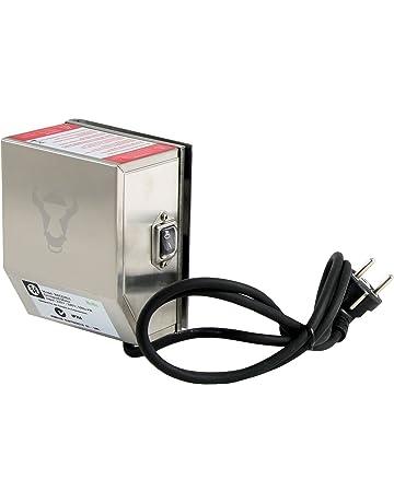Elektro Grillmotor Drehspieß BBQ Gasgrill Grill 12V 5W 110-240V schwarz
