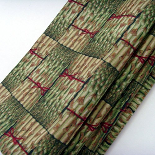 Bundled Asparagus Cotton Napkins (Set of 4) ME2Designs Handmade Table ()