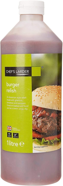 Chef Despensa de Burger condimento 1 Litro
