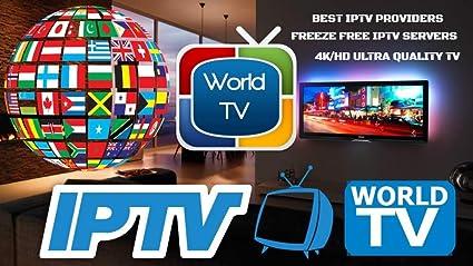 IPTV Lighting Deal - 4K HD Live Over 2000 Channels,Best Rated for