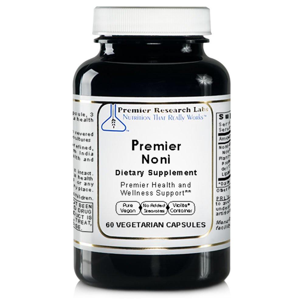 Premier Noni, 60 Capsules, Vegan Product - Morinda Citrifolia Formula for Premier Health and Wellness Support