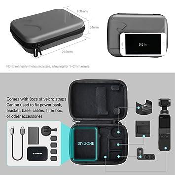Nett Skyreat Tragetasche Hard Carry Case Für Dji Osmo Pocket Und Filter Und Zubehör Elektromaterial