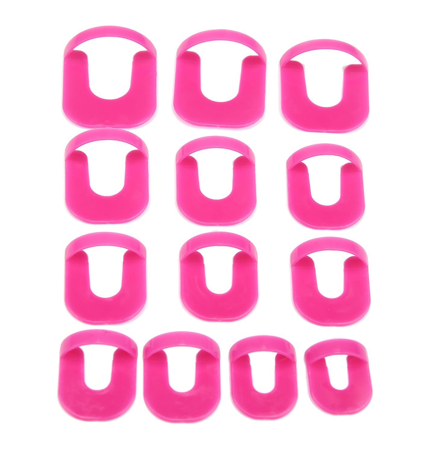 Chbmarteu Nail Glue Model Clip, Nail Spill-proof Tools, Proof Finger Cover Nail Polish, Nail Edge Gradient Printing French Nail Glue Spill Prevention Tool