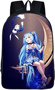 YOYOSHome Anime Hatsune Miku VOCALOID Backpack Cosplay Bookbag Daypack Laptop School Bag