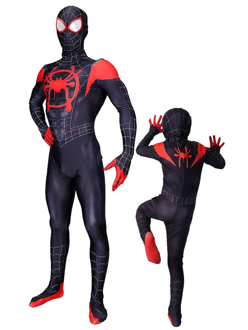 - 61ZUwljpHLL - Cimno Kids Adults Spandex Superhero Costume Cosplay Bodysuit 3D Zentai