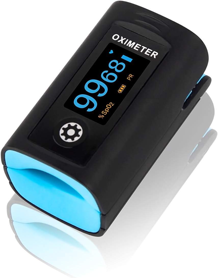 Modèle PC60F de la marque Creative Medical pour évaluer l'oxymétrie dans le cadre d'une activité sportive.