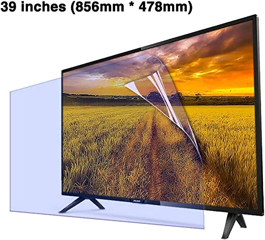 Non-Glare Anti-Blue Light Ultra-Clear Protector Film Anti-Scratch Eye Protection for LCD LED CUUYQ 65 Inches TV Screen Protector OLED /& QLED 4K HDTV,B