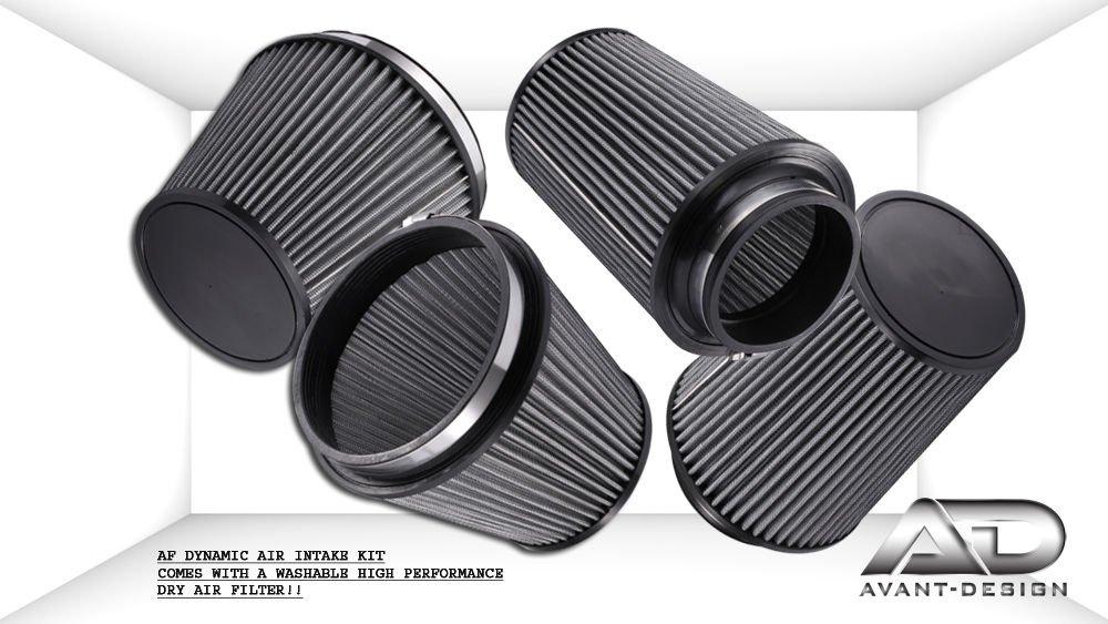 AF dinámico sistemas de filtro de aire de admisión para Genesis Coupe 10 - 12 2.0 T y 2.0 Turbo W/calor Shield 1012-hg4-hs: Amazon.es: Coche y moto