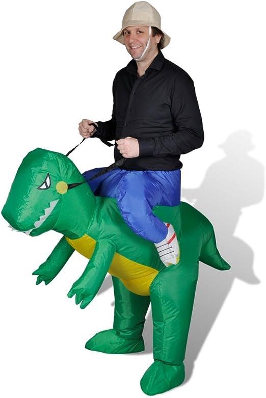 vidaXL Disfraz Dinosaurio Inflable: Amazon.es: Hogar