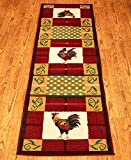 The Lakeside Collection 23″x88″ Country Runners Rooster For Sale