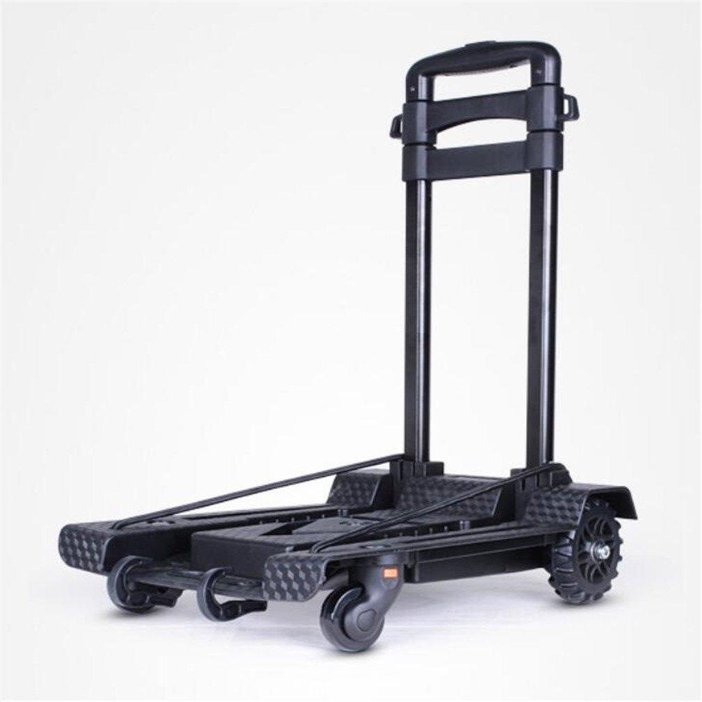 折りたたみ式ショッピングカート、家庭用小型トレーラー、食料品買い物カート、後部三脚、早期警告軸受45kg B07FFWG7TZ