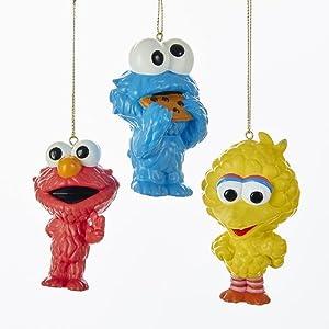 Kurt Adler Sesame Street Cuties Ornament 3A