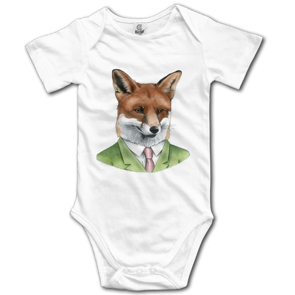 Rainbowhug Fox Animals Man Unisex Baby Onesie Lovely Newborn Clothes Funny Baby Outfits Comfortable Baby Clothes