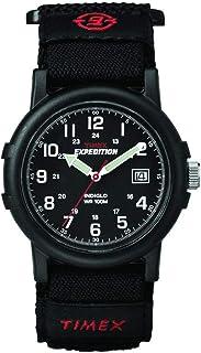 amazon com timex men s t49997 expedition gallatin black fast wrap rh amazon com Casio Indiglo Watch Timex Indiglo Watch Manual