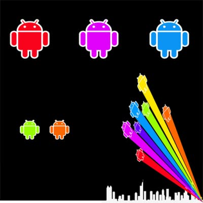 Live Wallpaper - Android Color