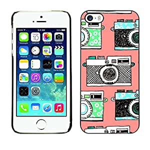 All Phone Most Case / Hard PC Metal piece Shell Slim Cover Protective Case Carcasa Funda Caso de protección para Apple Iphone 5 / 5S camera vintage photo photography