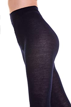 SANGIACOMO WE LOVE SOCKS NEWPORT - Leotardos para Mujer en Lana Merina y Algodón, Opaque 140Den, liso: Amazon.es: Ropa y accesorios