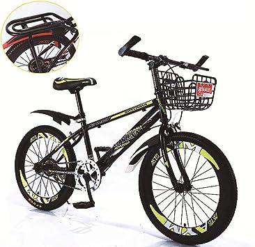 FJW Unisexo Velocidad única Bicicleta de montaña 18 Pulgadas 20 ...