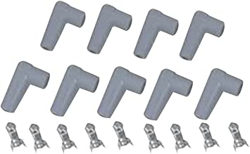 MSD 8848 Spark Plug Wire Boot Kit, (Set of 9) Build Your Own Spark Plug Wires on spark plugs brands, spark plugs 2003 dakota, spark up meaning, short circuit wires, spark plugs 2006 pacifica, spark pug, wire separators for 8mm wires, spark plugs awsf 32pp, spark plugs location diagram, spark indicator, spark plugs on, spark plugs for dodge hemi, ignition wires, coil wires, spark ignition, spark screen, spark plugs replacement, plugs and wires, spark plugs for toyota corolla, gas grill ignitor wires,