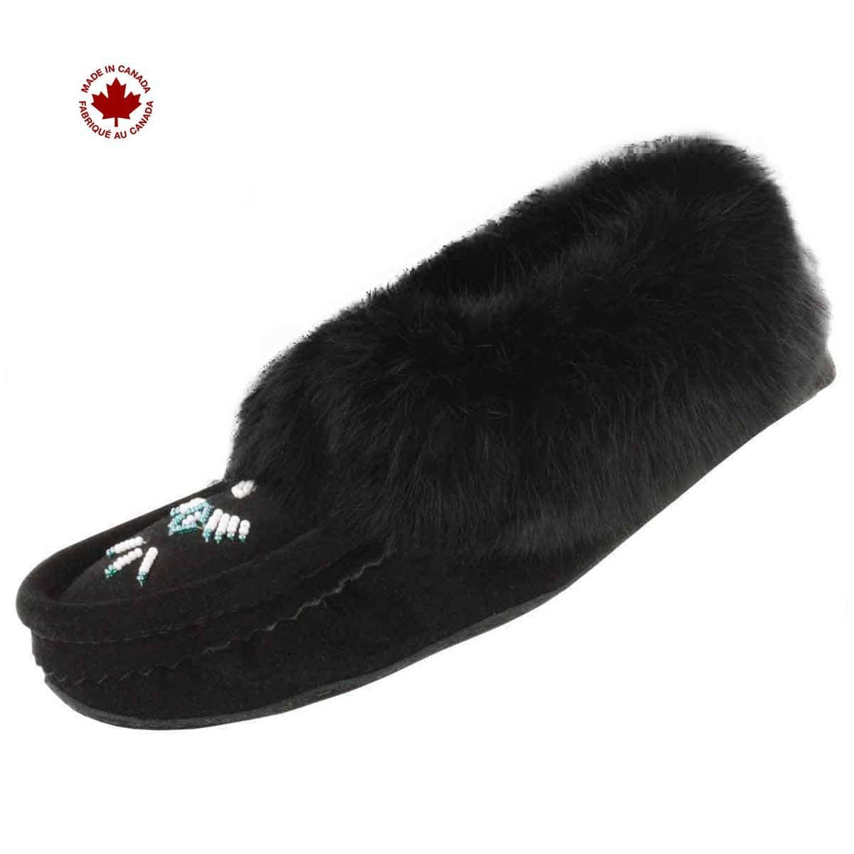 - SoftMoc Women's Rabbit Fur Fleece Lined Moccasin