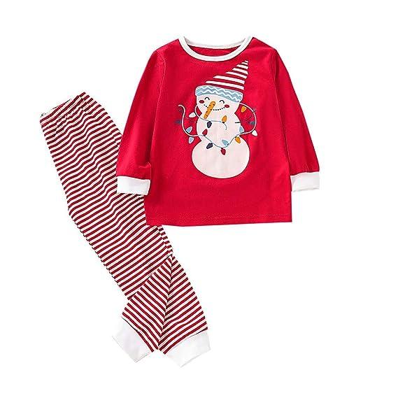 Ropa casera Infantil Disfraz Navidad Conjunto de Dibujos Animados ...