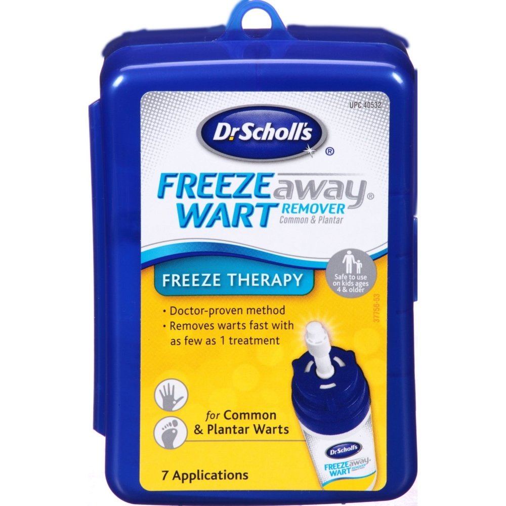 Dr. Scholl's Freeze Away Wart Remover 7 Each (Pack of 10)