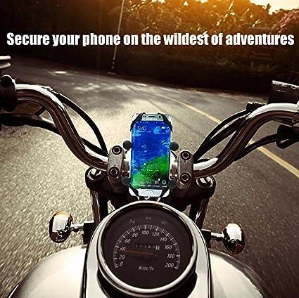 MOTOPOWER MP0609A 3.1Amp impermeable motocicleta cargador USB Kit SAE a USB adaptador Cargador de tel/éfono de la motocicleta cargador GPS