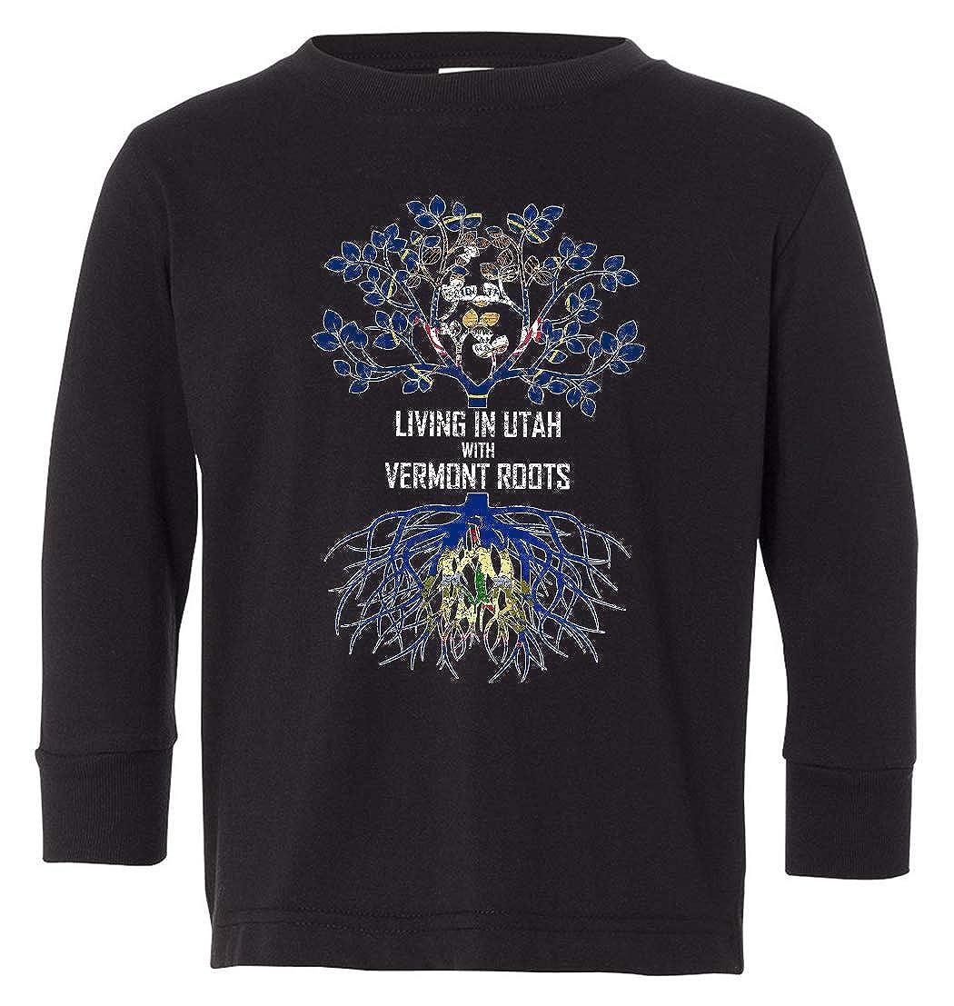 Tenacitee Babys Living in Utah Vermont Roots Shirt